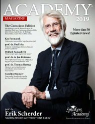 Speakers Academy ACADEMY® Magazine 2019 NL