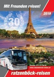 Ratzenböck Jahreskatalog 2019