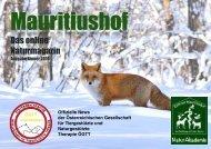 Mauritiushof Naturmagazin Jänner 2019