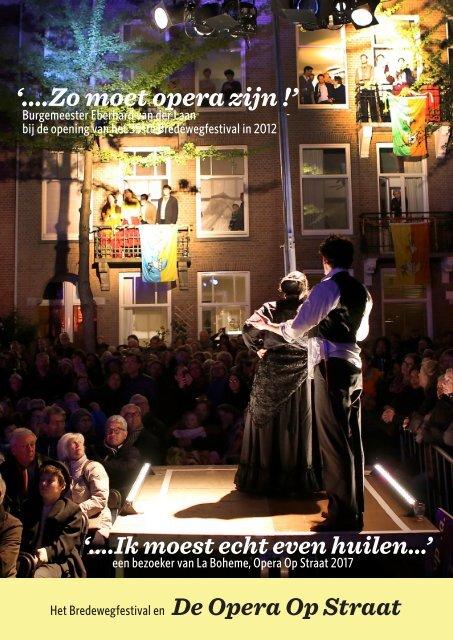 Bredewegfestival Opera Op Straat