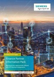 Building Technology Finance Information Pack