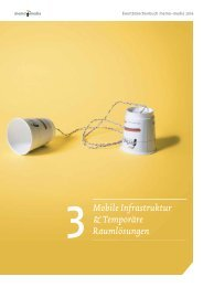 Eventbranchenbuch Mobile Infrastruktur & Temporäre Raumlösungen 2019