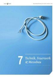 Eventbranchenbuch Technik, Feuerwerk & Messebau 2019