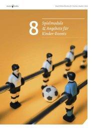 Eventbranchenbuch Spielmodule & Angebote für Kinder-Events 2019
