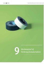 Eventbranchenbuch Werbemittel & Verbrauchsmaterialien 2019