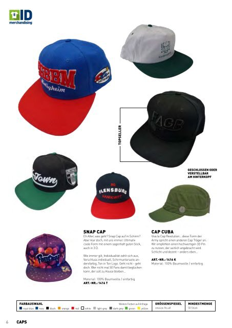 Merchandise Katalog Industrie