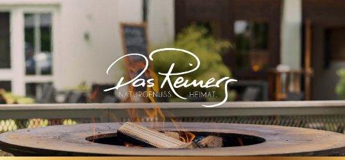 Das Reiners - Hausprospekt