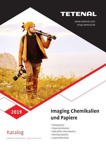 Imaging Chemikalien & Papiere Katalog