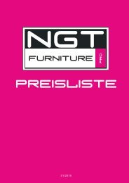 Preisliste NGT-Furniture