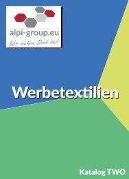 katalog two werbetextilien suedtirol alpi group