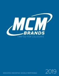 MCM Brands 2019