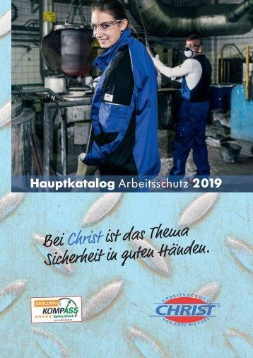Christ Arbeitsschutz Hauptkatalog 2019