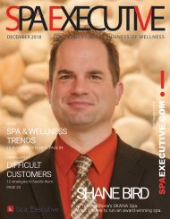 Spa Executive | Issue 1 | December 2018