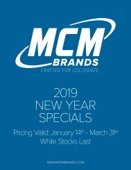 2019 MCM Brands New Year Specials