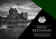 ICT303 SCOTTISH RESTAURANT PROJECT