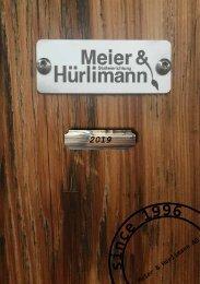 Meier & Hürlimann AG, Stalleinrichtung, 2019