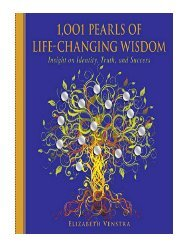 1,001 Pearls of Life-Changing Wisdom Insight on Identity, Tr