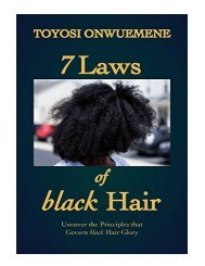7 Laws of black Hair Uncover the Principles That Govern blac