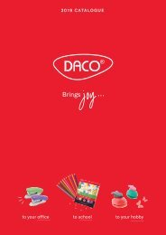 DACO - 2019 CATALOGUE