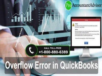 How to Fix Overflow Error in QuickBooks Desktop [Complete Guide]