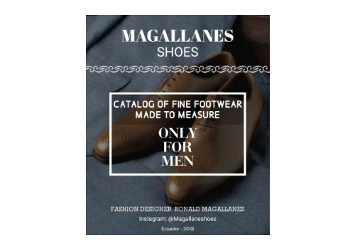 Catalogo Magallaneshoes 2018