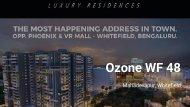 ozone WF 48 Mahadevapura Whitefield