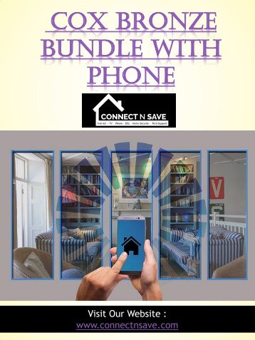 Cox Bronze Bundle With Phone