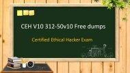 CEH V10 312-50v10 exam dumps