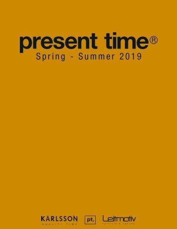 2. Present Time Katalog SS2019