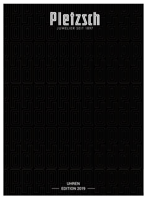 Pletzsch Katalog 2019