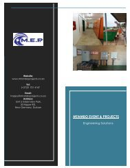 M.E.P Company Profile