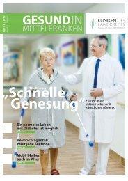Gesund in Mittelfranken - Patientenzeitschrift #6