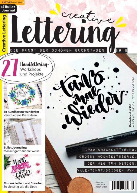 Creative Lettering - Die Kunst der schönen Buchstaben 8/2019