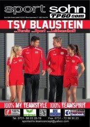 TSV Blaustein Flyer / Sport Sohn