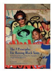 7 Principles for Raising Black Sons A Practical Guides For S