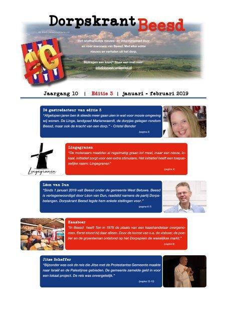 DORPSKRANT BEESD – JAARGANG 10 - NR.3