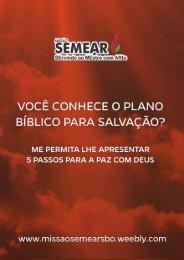 Enviando por email O Plano Bíblico para a Salvação