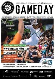 WWU Baskets Gameday #20 2018_19
