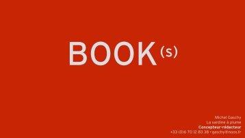 BOOK(s) Michel Gaschy