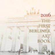 The First Berliner Art Book 2016 ©