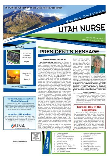 Utah Nurse - February 2019
