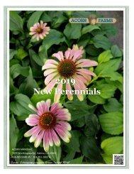 Acorn Farms 2019 New Perennials
