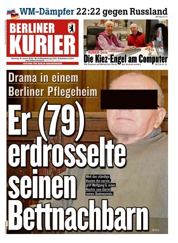 Berliner Kurier 15.01.2019