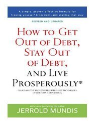 How to Get Out of Debt, Stay Out of Debt, and Live Prosperou