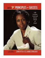 Joetta's P Principles for Success Life Lessons Learned from