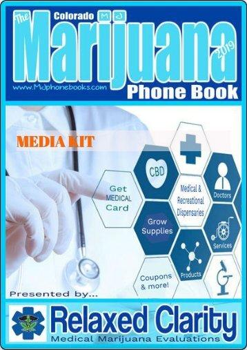 The MARIJUANA Phone Book - MEDIA KIT