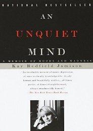 Ebooks download An Unquiet Mind  [NEWS]