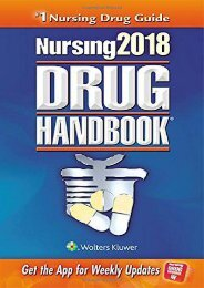 Ebooks download Nursing2018 Drug Handbook (Nursing Drug Handbook)  [DOWNLOAD]