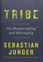 Ebooks download Tribe: On Homecoming and Belonging  [READ]