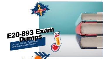 E20-893 Exam Questions